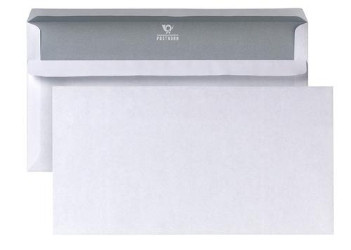 1000-Briefumschlaege-DIN-lang-weiss-70g-qm-selbstklebend-110-x-220-mm-ohne-Fenster